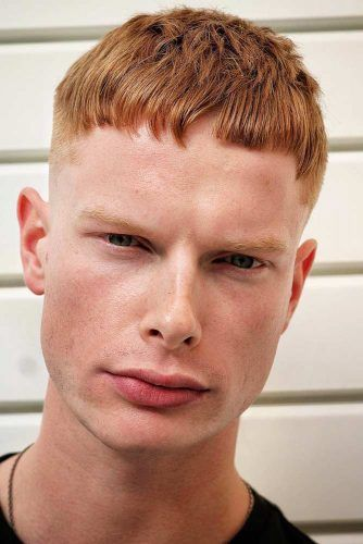 turuncu erkek saç modelleri