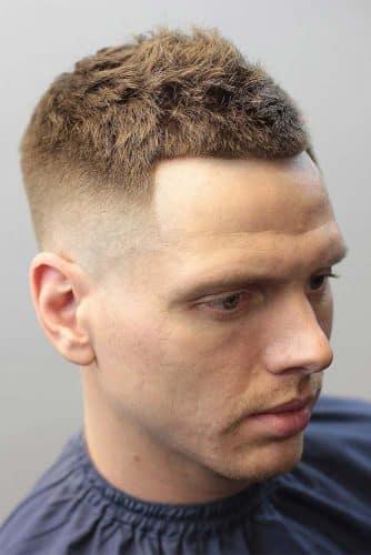 yanları sıfır kesilmiş erkek saç modelleri