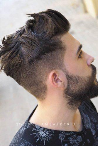 yanlari kisa ustu uzun erkek saç modelleri