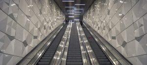 Yürüyen merdiven, kim icat etti