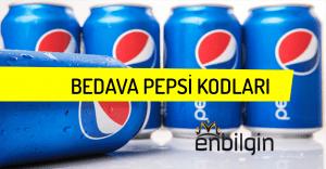 Kullanılmamış Pepsi Kodları