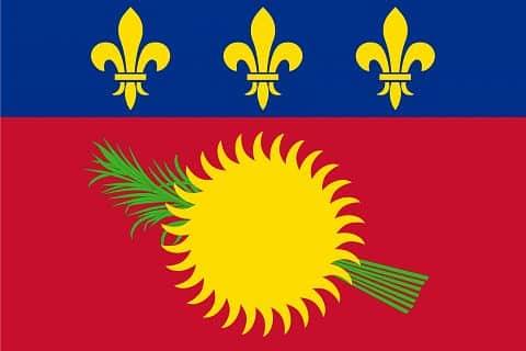Guadeloupe Bayrağı