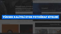 Yüksek Kaliteli Ücretsiz Stok Fotoğraf Siteleri Listesi