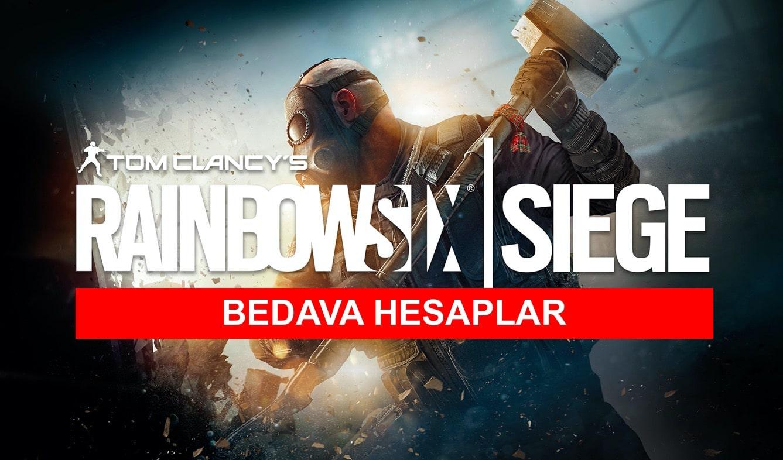 bedava rainbow six siege hesaplari
