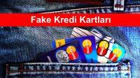 fake kredi kartlari