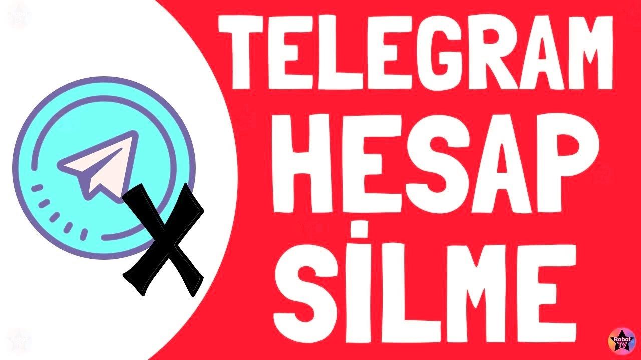Telegram Hesap Silme