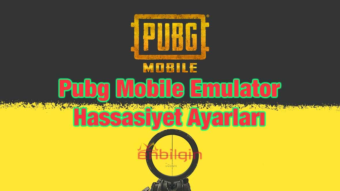 pubg mobile emulator hassasiyet ayarları