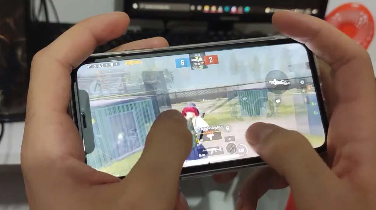 pubg mobile 4 parmak